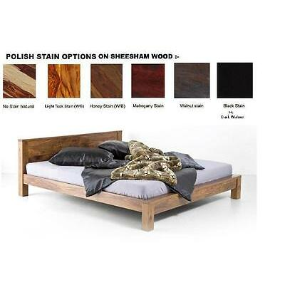 Modern wooden Double bed ( For Indian queen mattress size )