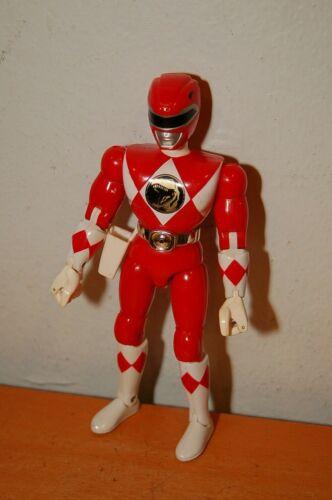 "Vintage Red Power Ranger Karate Kick Action Figure Bandai 1994-8/"" V"