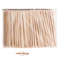 Eyebrow Small Thin Wooden Wood Tongue Depressors Spatulas Waxing Tatoo Stick uk
