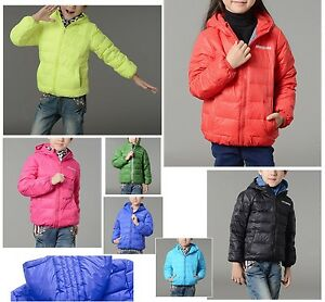 Cappotto-Giacca-Bambini-Piumino-D-039-Oca-Children-Hoodies-Jacket-Duck-Down-3456001
