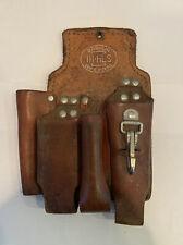 Bashlin 111 Hs Leather Linemens Holster Used