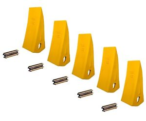 23 10 230 Backhoe // Skid Bucket Tooth with pins 230HXL 230S, 230HX