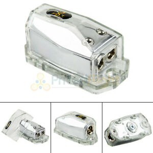 Stinger Power Ground 0/4 to 4/8 Gauge Car Distribution Block SHD20 1 In 2 Out