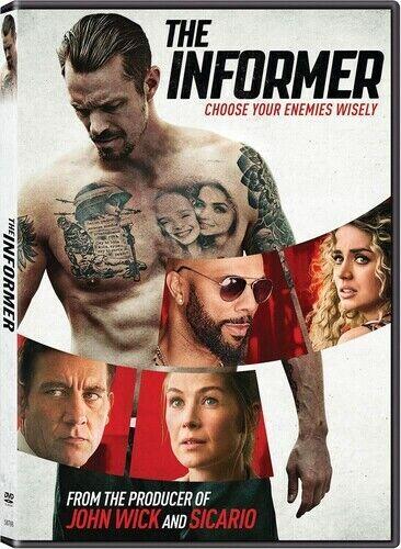 The Informer - DVD By Kinnaman, Joel - GOOD - $6.98