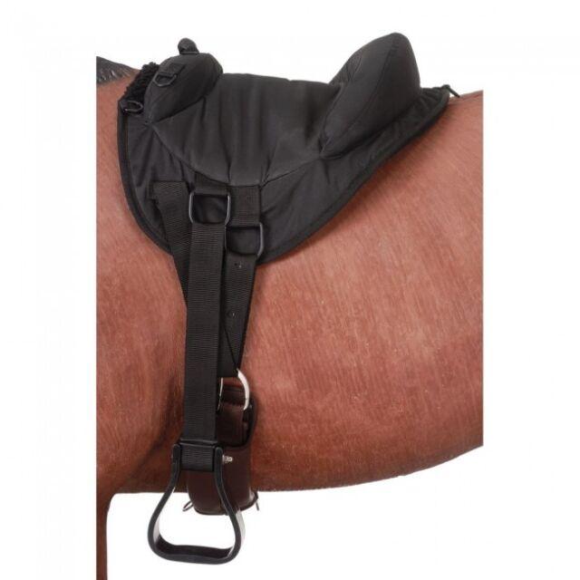 Tough-1 Black Heavy Denier Youth /Pony Bareback Pad Horse Tack Equine 31-911