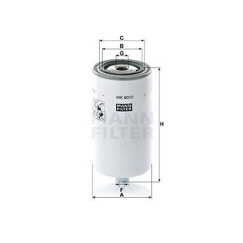WK 9010 Filtro de combustible nuevo Mann-Filter