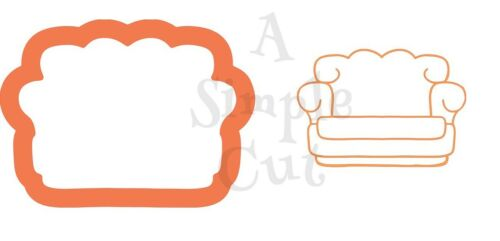 Friends Couch Chunky Cookie Cutter