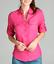NEW-Plus-Size-Cotton-Button-Front-Shirt-Blouse-3-4-Sleeve-L-XL-1X-2X-3X thumbnail 7