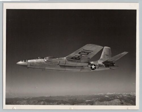 1940s North American B45 TORNADO JET BOMBER Vintage OFFICIAL US AIR FORCE Photo