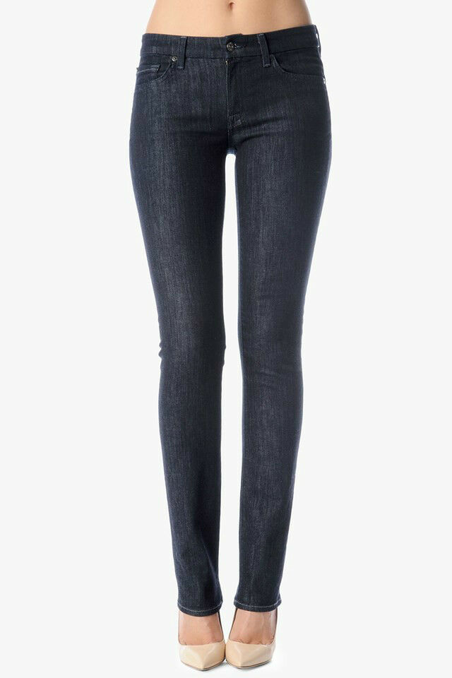 NWT 7 For All Mankind kimme straight leg sexy and curve NEW RINSE NEW RINSE 25