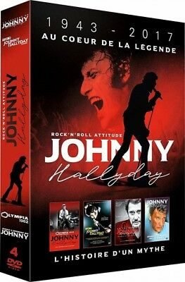 Johnny Hallyday: Box at the Heart of the Legend (DVD) | eBay