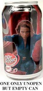 Diet-Dr-Pepper-Avengers-Black-Widow-USA-2012-EMPTY-UNOPEN-12oz-Can-Ltd-Edition