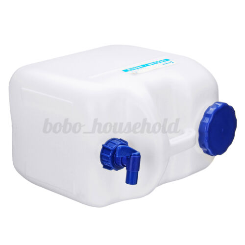 Portable Plastic Water Storage Container Outdoor Camping Hiking Travel 10//15//23L