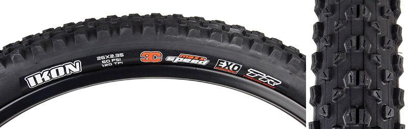 Maxxis Ikon Ikon Ikon 3C   Exo   Tr Reifen Max Ikon 26x2.35 Bk Faltbar   120 3c   Exo   Tr  | Hochwertige Materialien  22aa90