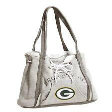 Green Bay Packers NFL Football Team Ladies Embroidered Hoodie Purse Handbag