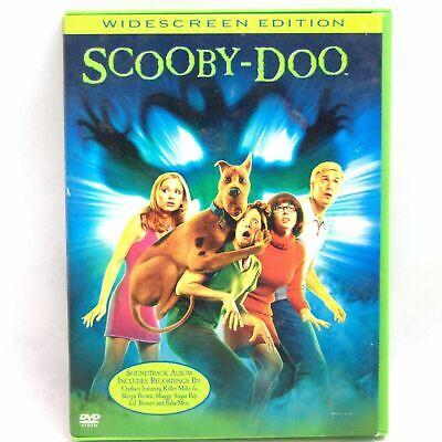 Scooby Doo The Movie Dvd 2002 Widescreen Shaggy Fred Velma Daphne Haunted House Ebay