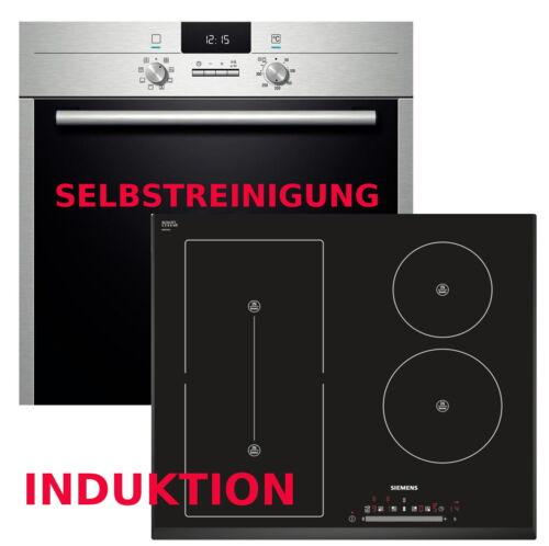 plaques chauffantes Flexi zone Induction Poêle Set Siemens autosuffisantes four pyrolyse four