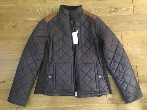 Ralph 295 Jacket Lauren Brown M Taglia Bnwt Quilted Rrp Sabina 4vAqfw4T