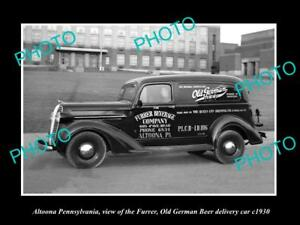 OLD-LARGE-HISTORIC-PHOTO-OF-ALTOONA-PENNSYLVANIA-THE-OLD-GERMAN-BEER-CAR-c1930