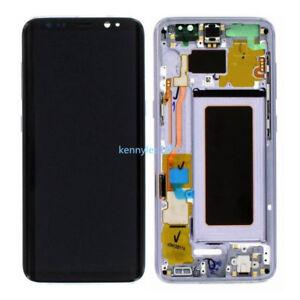 Pantalla-Completa-Lcd-Tactil-Marco-Para-Samsung-Galaxy-S8-Plus-SM-G955F-Purple