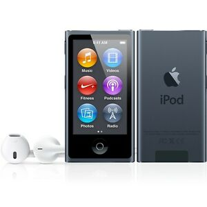 NEW-Apple-iPod-nano-7th-Generation-Space-Grey-Black-16GB-Latest-generation