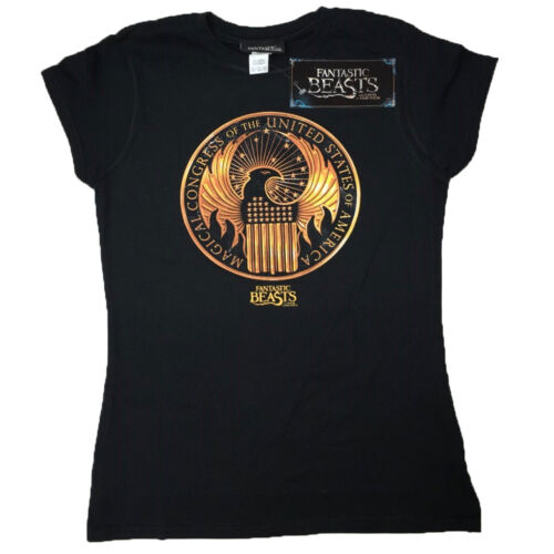 Fantastic Beasts And Where To Find Them Magical Congress OFFICIAL Fitted Tee 22