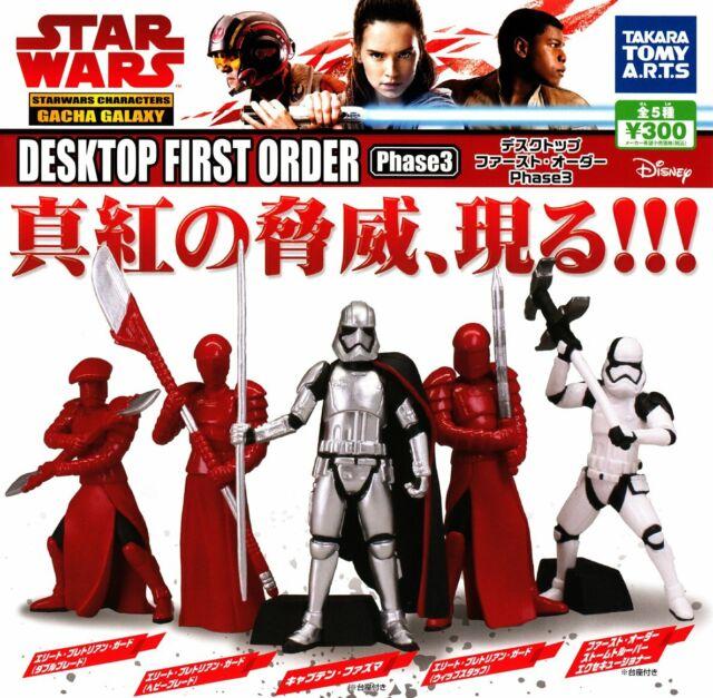 TAKARATOMY A.R.T.S Star Wars mini figures All 6 set Gashapon mascot toys