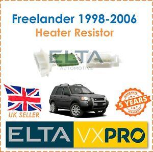 Fuer-Freelander-l314-1-8-2-0-2-5-1998-2006-Elta-Innenraum-Heizungsgeblaese-Widerstand