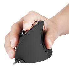Perixx PERIMICE-515, Ergonómico vertical ratón USB con cable wired ergo Ratón