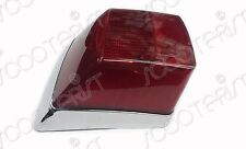 Vespa Rear Tail Light Lamp Chrome PX 80/125/150/200 LML Star/Stella/T5/NV New