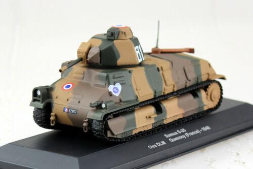 Panzer Somua S-35 Frankreich 1940 1:43 Altaya Modellauto