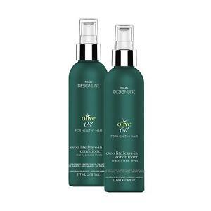 Olive Oil EVOO Lite -DESIGNLINE - Leave-In Conditioner Treatment 6 oz - 2 Pack
