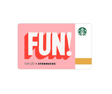 Starbucks Korea 2017 ban.do FUN Card with Matching Sleeve