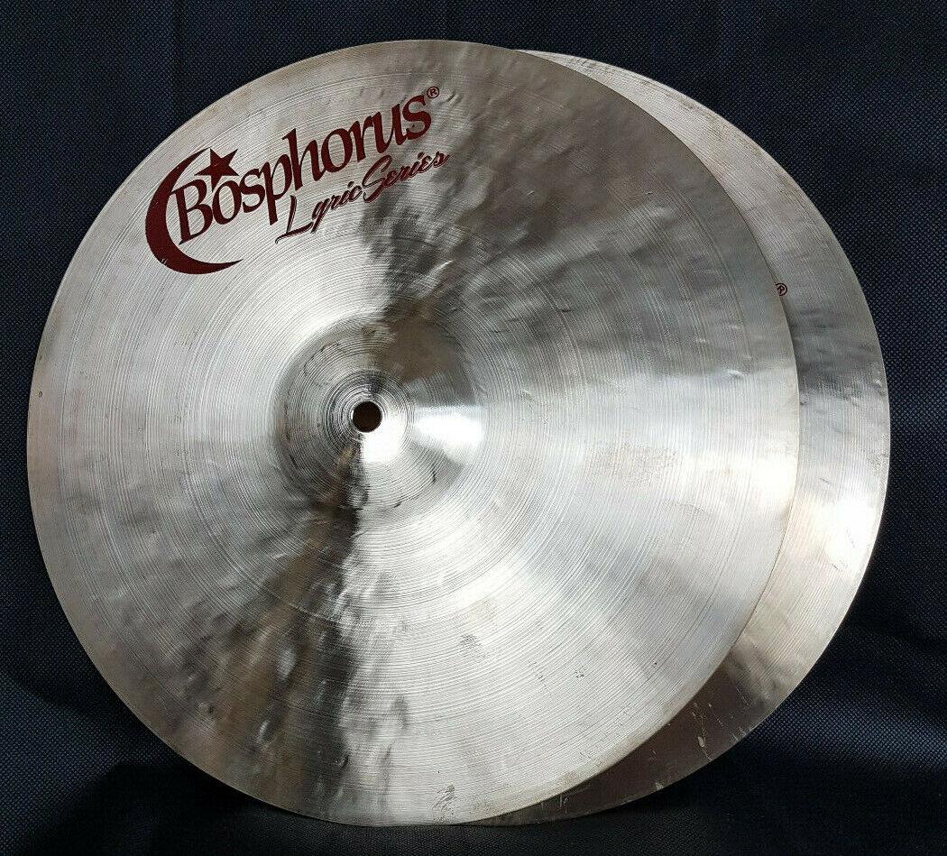 Bosphorus Lyric Series 14  HiHat Hi Hat Becken Cymbal   Piatto Cymbale Messe 19