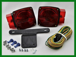Red STT 440 Lights Lights Wiring and Connector Trailer ...