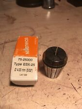 Schaublin Esx25 Collet 4 3mm 532 Very Good Condition Possibly New Emco