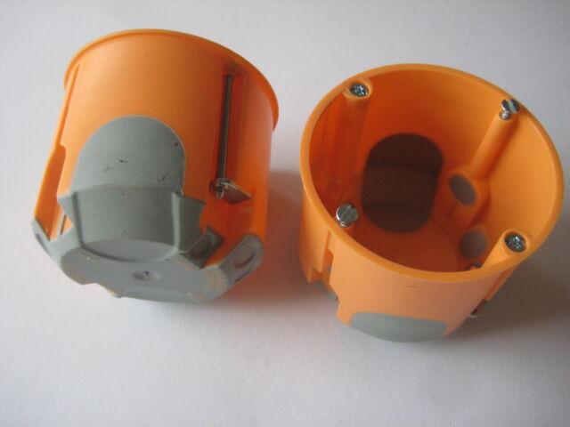 Hohlwanddosen winddicht / tief 61mm oder flach 47mm /sie können wählen NEU OVP
