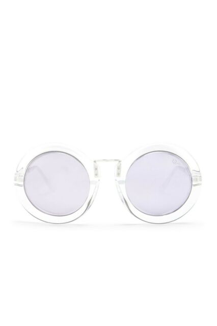 abb6b608db Quay Australia Life in Xanadu Clear Violet Sunnies Sunglasses Brand New  Tags NWT