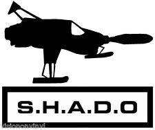 GA UFO 03 SHADO Interceptor Vinyl Car Decal Sticker 17cm x 14cm