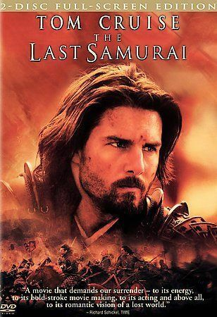 The Last Samurai DVD, 2004, 2-Disc Set, Full-Screen Version  - $3.50