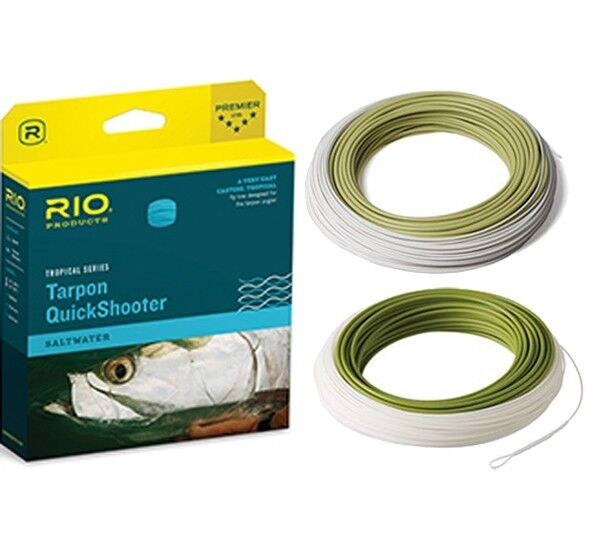 nuovo Rio Tarpon QuickShooter WF10F Fly Line  gratuito Shipping in the US