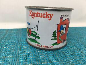Tin Litho Cup Mug Vintage Kentucky Hillbilly  Metal - VG condition  Tc2