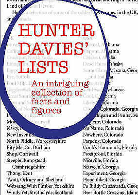 1 of 1 - Hunter Davies' Lists: An Intriguing Collection of Facts and Figures, Davies, Hun