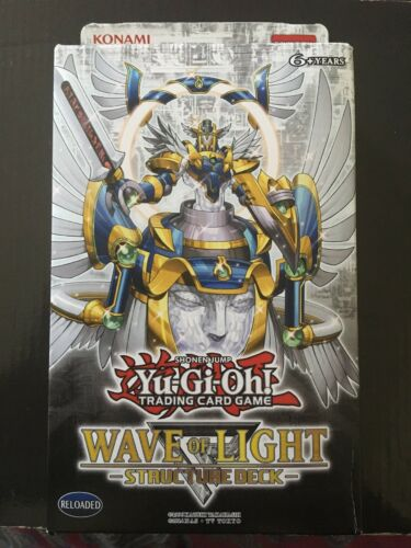 1st Edition Wave of Light English Structure Deck YuGiOh! FACTORY SEALED
