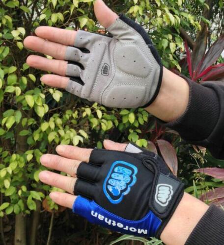 Half Finger Dirt Bike Bicycle BMX fixed gear Skateboard roller skating Gloves