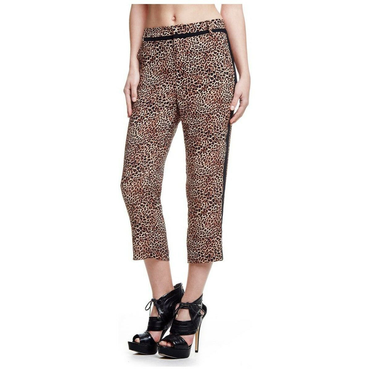 Solde- pantalon à motifs animaliers GUESS   W61B05W7700 - en 38 40 (us= 28- L=N)