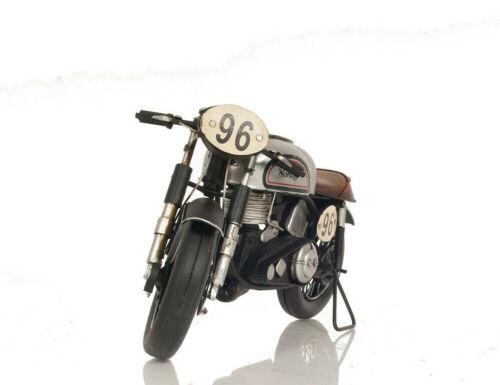 "Norton Manx 500 1952 British Racing Motorcycle Metal Model 11/"" Collectible Decor"