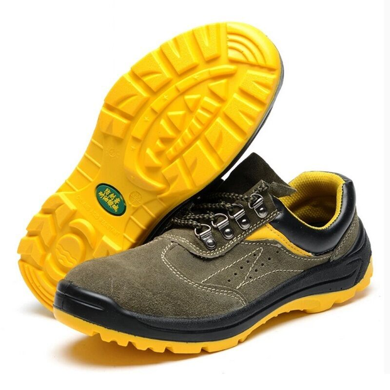 Men Safety shoes Steel Toe Prevent Puncture Breathable Casual Climbing Work Boot
