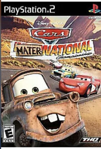 Cars: Mater-National - Ps2 PlayStation 2 kids game