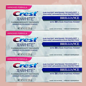 CREST-3D-WHITE-BRILLIANCE-TOOTHPASTE-X-3-4-1oz-116g-WITH-POLISHING-COMPLEX